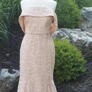 Sequin Trumpet Gown NWT